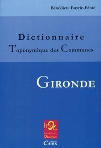 Dictionnaire toponymique des communes Gironde.pdf