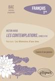 """Bénédicte Freysselinard - Français 1re - Victor Hugo, Les Contemplations, livres I à IV, parcours """"Les Mémoires d'une âme""""."""