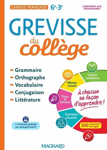 GREVISSE DU COLLÈGE  Edition 2018