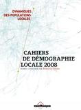 Bénédicte Gérard - Cahiers de démographie locale.