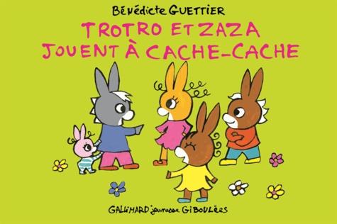 Bénédicte Guettier - Trotro et Zaza jouent à cache-cache.