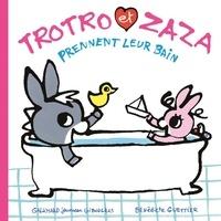 Bénédicte Guettier - Trotro et Zaza prennent leur bain.