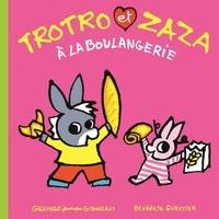 Bénédicte Guettier - Trotro et Zaza  : Trotro et Zaza à la boulangerie.