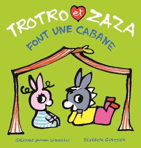 Trotro et Zaza  Trotro et Zaza font une cabane