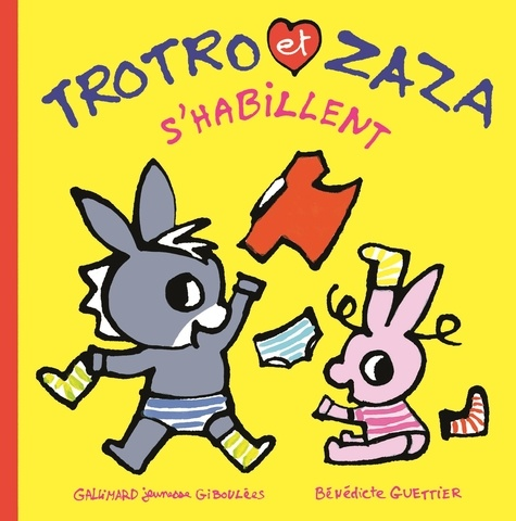 Trotro et Zaza  Trotro et Zaza s'habillent