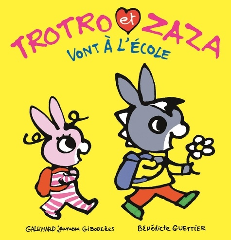 Trotro et Zaza  Trotro et Zaza vont à l'école