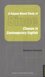 Bénédicte Guillaume - A Corpus-Based Study of Since - Clauses in Contemporary English.