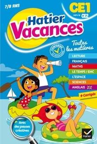 Bénédicte Idiard - Cahier de vacances 2019 du CE1 vers le CE2 7/8 ans.