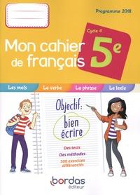 Openwetlab.it Français 5e Cycle 4 Mon cahier de français - Cahier de l'élève Image