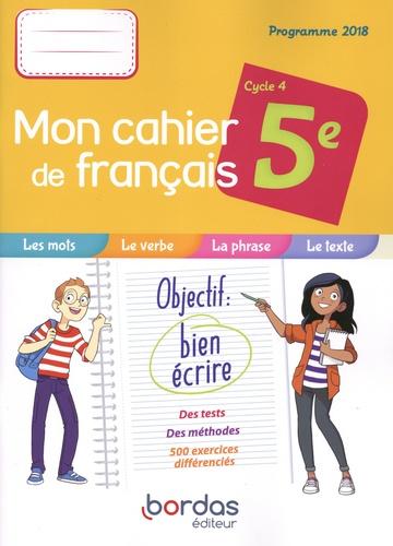 Francais 5e Cycle 4 Mon Cahier De Francais Cahier De L Eleve Grand Format