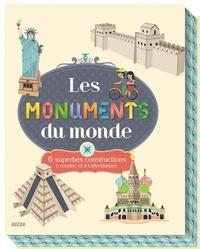 Bénédicte Le Loarer et Emilie Lapeyre - Les monuments du monde - 6 superbes constructions à monter et à collectionner.