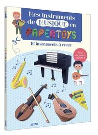 Galabria.be Mes instruments de musique en papertoys - 10 instruments à créer Image