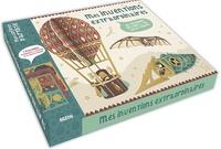 Bénédicte Le Loarer et Rozenn Bothuon - Mes inventions extraordinaires de Léonard de Vinci et de Jules Vernes - 5 machines étonnantes à monter et à collectionner. Avec 1 livre, 1 mode d'emploi et 14 planches.