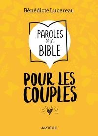 Livre de téléchargement pdf Paroles de la Bible pour les couples 9791033608875