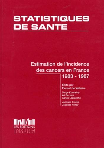 Benhamou - Estimation de l'incidence des cancers en France.