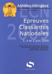Accentsonline.fr Annales corrigées Epreuves Classantes Nationales - 3, 4 et 5 juin 2009 Image