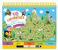 Benjamin Bécue et  Did Chocolatine - 48 labyrinthes, trouve le bon chemin ! - 25 pages plastifiées. Avec 1 feutre effaçable.