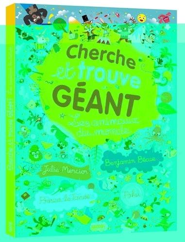 Cherche Et Trouve Geant Les Animaux Du Monde Album