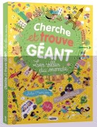 Benjamin Bécue et Julie Mercier - Cherche et trouve géant - Les villes du monde.