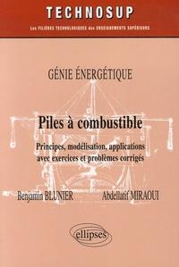 Deedr.fr Piles à combustible Genie énergétique - Principes, modélisation, applications avec exercices et problèmes corrigés Image