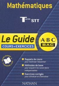 Benjamin Bouchon et Paul Faure - Mathématiques Terminale STT.