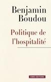 Benjamin Boudou - Politique de l'hospitalité. Une généalogie conceptuelle.