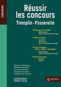 Benjamin Charignon et Clémence Bourdier - Concours Tremplin, Passerelle - Les clés de la réussite.