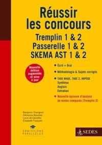 Benjamin Charignon et Clémence Bourdier - Réussir les concours - Tremplin 1 & 2 - Passerelle 1 & 2 - SKEMA AST 1 & 2.