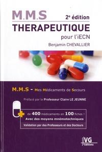 Benjamin Chevallier - Thérapeutique pour l'iECN.