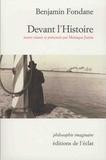 Benjamin Fondane - Devant l'Histoire.