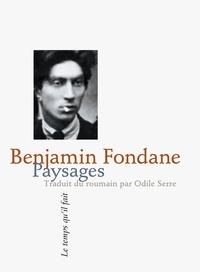 Benjamin Fondane - Paysages.