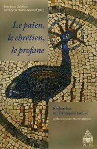 Benjamin Goldlust et François Ploton-Nicollet - Le païen, le chrétien, le profane - Recherches sur l'Antiquité tardive.