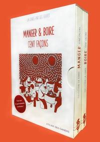 Benjamin Joinau et Simon Kim - Manger & boire - La Corée par ses textes - Coffret en 2 volumes : Manger cent façons ; Boire cent façons.