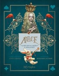 Benjamin Lacombe - Alice - Le carrousel. Le jeu de cartes.