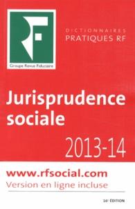 Benjamin Marcelis et Agnès Roset - Jurisprudence sociale 2013-2014 - Droit du travail.