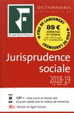 Benjamin Marcelis et Lysiane Tholy - Jurisprudence sociale - Droit du travail.