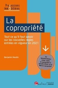 Benjamin Naudin - La copropriété.