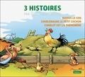 Benjamin Rabier - 3 histoires par Benjamin Rabier - Volume 2, Marius le Coq ; Charlemagne le petit cochon ; Charlot est un phénomène.