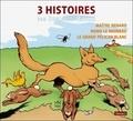 Benjamin Rabier - 3 histoires par Benjamin Rabier - Volume 3, Maître renard ; Nono le moineau ; Le grand pélican blanc.
