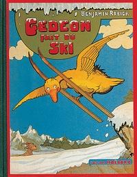 Benjamin Rabier - Les aventures de Gédéon  : Gédéon fait du ski.