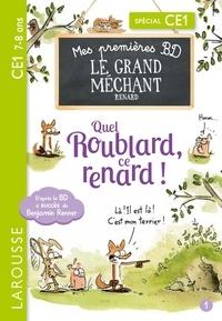 Benjamin Renner - Le Grand Méchant Renard Tome 1 : Aussi féroce qu'un os ! ; Quel roublard, ce renard !.