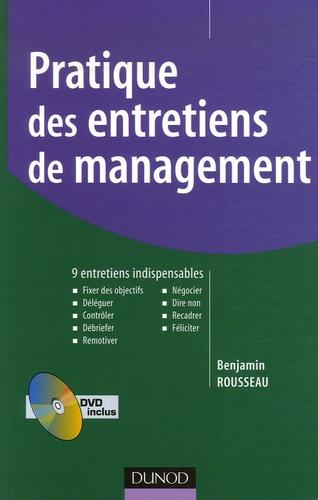 Benjamin Rousseau - Pratique des entretiens de management - 9 entretiens indispensables. 1 DVD