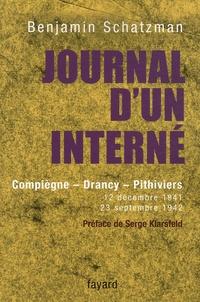 Deedr.fr Journal d'un interné - Compiègne, Drancy, Pithiviers 12 décembre 1941 - 23 septembre 1942 Image