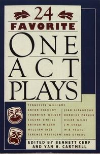 Bennett Cerf et Van H. Cartmell - 24 Favorite One-Act Plays.