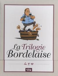 Benoist Simmat et Philippe Bercovici - La Trilogie Bordelaise - Robert Parker, les septs péchés capiteux - Dico Vino, guide encyclopédique du vin - Les caves du CAC 40, les dix commandements du vin.