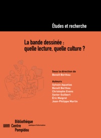 Benoît Berthou - La bande dessinée: quelle lecture, quelle culture ?.
