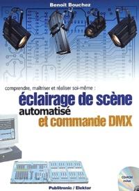 Deedr.fr Eclairage de scène automatisé et commande DMX. Comprendre, maîtriser et réaliser soi-même, avec CD-ROM Image