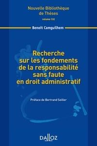 Accentsonline.fr Recherche sur les fondements de la responsabilité sans faute en droit administratif Image