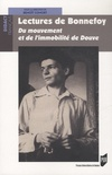 Benoît Conort - Lectures de Bonnefoy - Du mouvement et de l'immobilité de Douve.