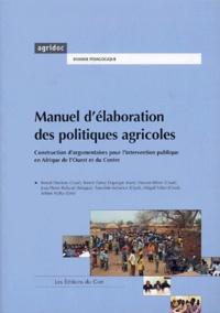 Accentsonline.fr Manuel d'élaboration des politiques agricoles - Construction d'argumentaires pour l'intervention publique en Afrique de l'Ouest et du Centre Image